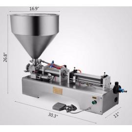 Automata folyadéktöltő gép (50-500ml töltési kapacitással)