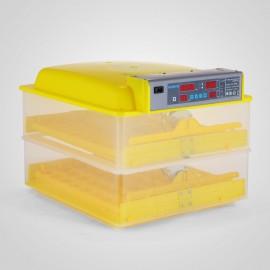 Keltetőgép, inkubátor, tojáskeltető - 96 tojás kapacitással