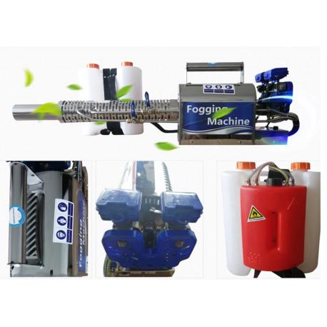 Ködképző, ködgenerátor, melegködképző