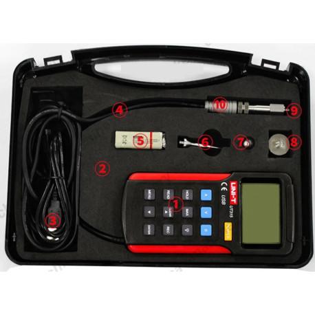 Digitális rezgésmérő, vibrációmérő, USB port