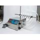 Félautomata folyadéktöltő gép, töltő gép – 6 töltőcsővel – 3-4000 ml